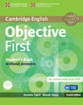 CAMBRIDGE ENGLISH OBJECTIVE FIRST STUDENT'S BOOK WITHOUT ANSWERS (+CD-ROM)