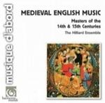 (CD) MEDIEVAL ENGLISH MUSIC