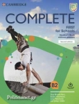 COMPLETE FIRST FOR SCHOOLS B2 (+CD DOWNLOADABLE)