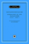 (H/B) GIOVANNI BOCCACCIO: GENEALOGY OF THE PAGAN GODS (VOLUME 1, BOOKS I-V)