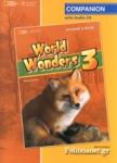 WORLD WONDERS 3 COMPANION STUDENT'S (+CD)