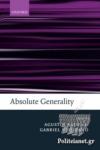 (P/B) ABSOLUTE GENERALITY