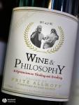 (P/B) WINE AND PHILOSOPHY