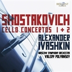 (CD) CELLO CONCERTOS 1 AND 2