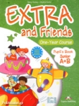 (POWER PACK) EXTRA AND FRIENDS JUNIOR A+B ONE-YEAR COURSE (PUPIL'S+DVD+ie-BOOK+VOCABULARY AND GRAMMAR PRACTICE+ALPHABET BOOK+ACTIVITY)