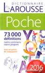 DICTIONNAIRE LAROUSSE DE POCHE 2016