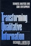 (P/B) TRANSFORMING QUALITATIVE INFORMATION