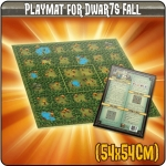 DWAR7S FALL: GAME MAT