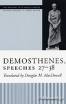 (P/B) DEMOSTHENES SPEECHES 27-38
