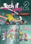 (PACK) TECH IT EASY! 2, (COURSEBOOK,+ACTIVITY BOOK+WRITER'S PORTFOLIO+i-BOOK+GRAMMAR SONGS)