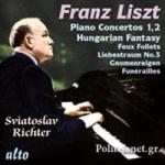 (CD) RICHTER PLAYS LISZT