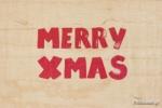 ΞΥΛΙΝΗ ΕΥΧΕΤΗΡΙΑ ΚΑΡΤΑ - CHRISTMAS