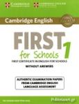 CAMBRIDGE ENGLISH FOR SCHOOLS 1
