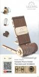 FOLDABLE PHONE HOLDER (ΜΗΧΑΝΙΚΟ ΞΥΛΙΝΟ ΜΟΝΤΕΛΟ - ΠΤΥΣΣΟΜΕΝΗ ΘΗΚΗ ΤΗΛΕΦΩΝΟΥ)