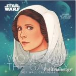 STAR WARS: WOMEN OF THE GALAXY 2021 WALL CALENDAR