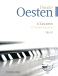25 EASY PIECES FOR PIANO OP. 61 (+CD)