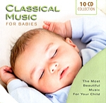 (10-CD SET) CLASSICAL MUSIC FOR BABIES