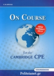 ON COURSE FOR THE CAMBRIDGE CPE