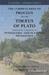 (P/B) THE COMMENTARIES ON THE TIMAEUS OF PLATO