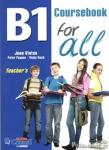 (PACK) B1 FOR ALL, TEACHER'S (+B1 WRITING FOR ALL+GRAMMALYSIS B1+MP3)