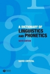 (P/B) A DICTIONARY OF LINGUISTICS AND PHONETICS