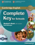 COMPLETE KEY FOR SCHOOLS (+CD-ROM)