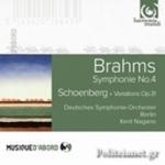 (CD) (CD) BRAHMS: SYMPHONY No.4 / SCHOENBERG: VARIATIONS Op.31