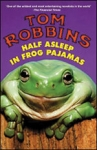 (P/B) HALF ASLEEP IN FROG PAJAMAS