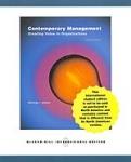 CONTEMPORARY MANAGEMENT (P/B)