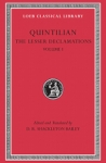 (H/B) QUINTILIAN: THE LESSER DECLAMATIONS (VOLUME I)