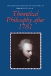 (P/B) THEORETICAL PHILOSOPHY AFTER 1781