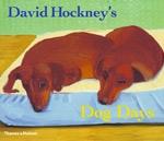 (P/B) DAVID HOCKNEY'S DOG DAYS