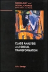 (P/B) CLASS ANALYSIS AND SOCIAL TRANSFORMATION