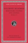 (H/B) VALERIUS MAXIMUS (VOLUME II)
