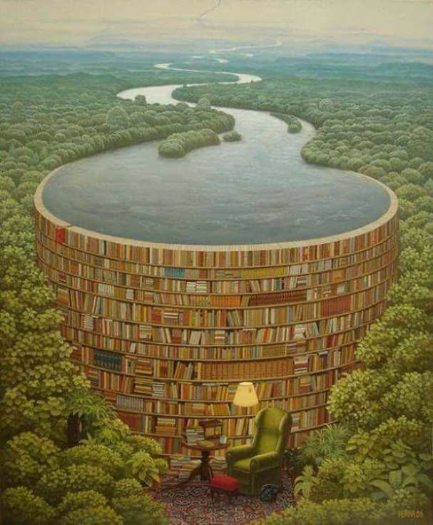 Behind-every-stack-of-books-is-a-flood-of-knowledge