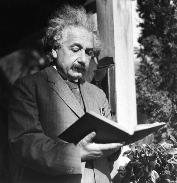 Einstein reading