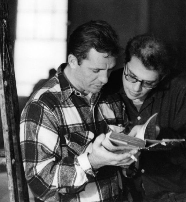 Kerouac and Ginsberg reading